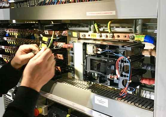 Maintenance électrique - ADB LUX
